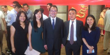 CFAA Welcomes Consul General Mr. HONG Lei